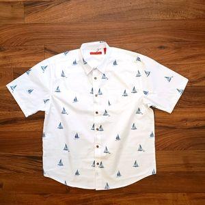 Havanera short sleeve shirt size Large
